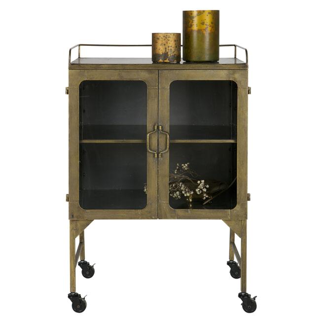BePureHome Kastje 'Talent', kleur Antique Brass