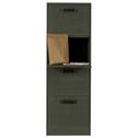 BePureHome Ladenkast 'File', kleur Forest Green