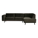BePureHome Loungebank 'Statement' Velvet, kleur groen