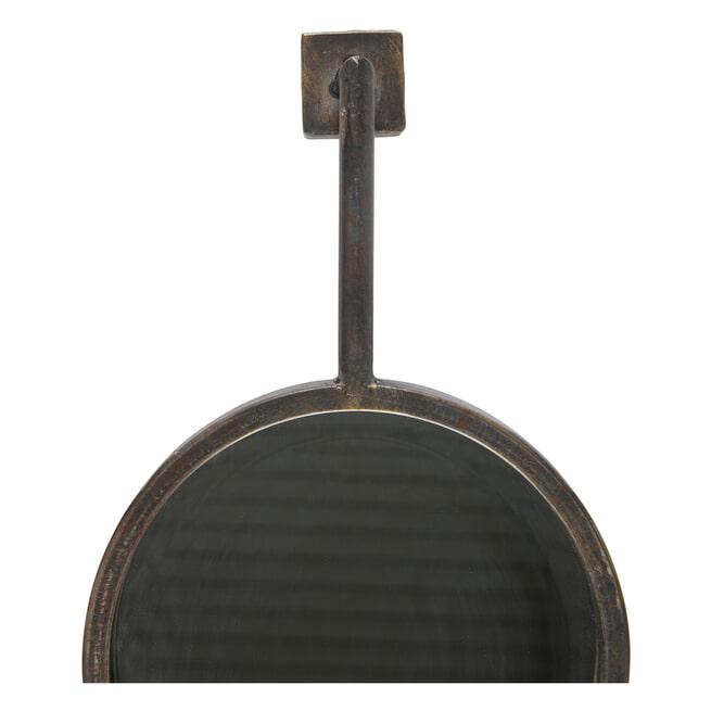 BePureHome Spiegel 'Chain' 47 x 30cm, kleur Antique Black