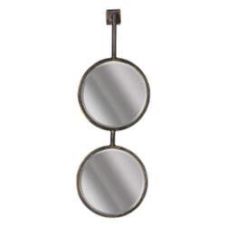 BePureHome Spiegel 'Chain' 58 x 20cm, kleur Antique Black