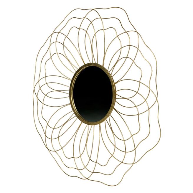 BePureHome Spiegel 'Handsome' 88,5cm, kleur Antique Brass