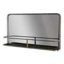 BePureHome  Spiegel 'Reflection' 85 x 52cm, Antique Black (Showroommodel)