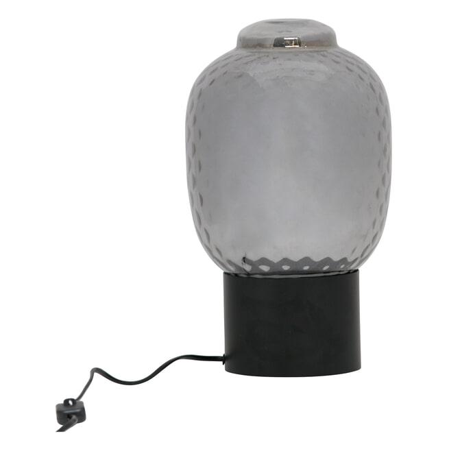 BePureHome Tafellamp 'Bubble' 34cm, kleur Zwart