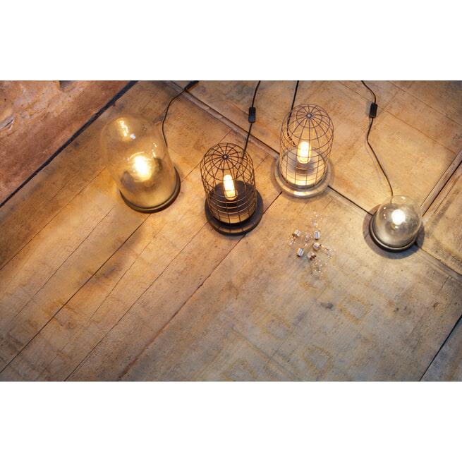 BePureHome Tafellamp 'Cover' Stolp Laag, kleur Zwart