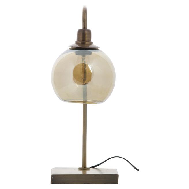 BePureHome Tafellamp 'Lantern', kleur Antique Brass