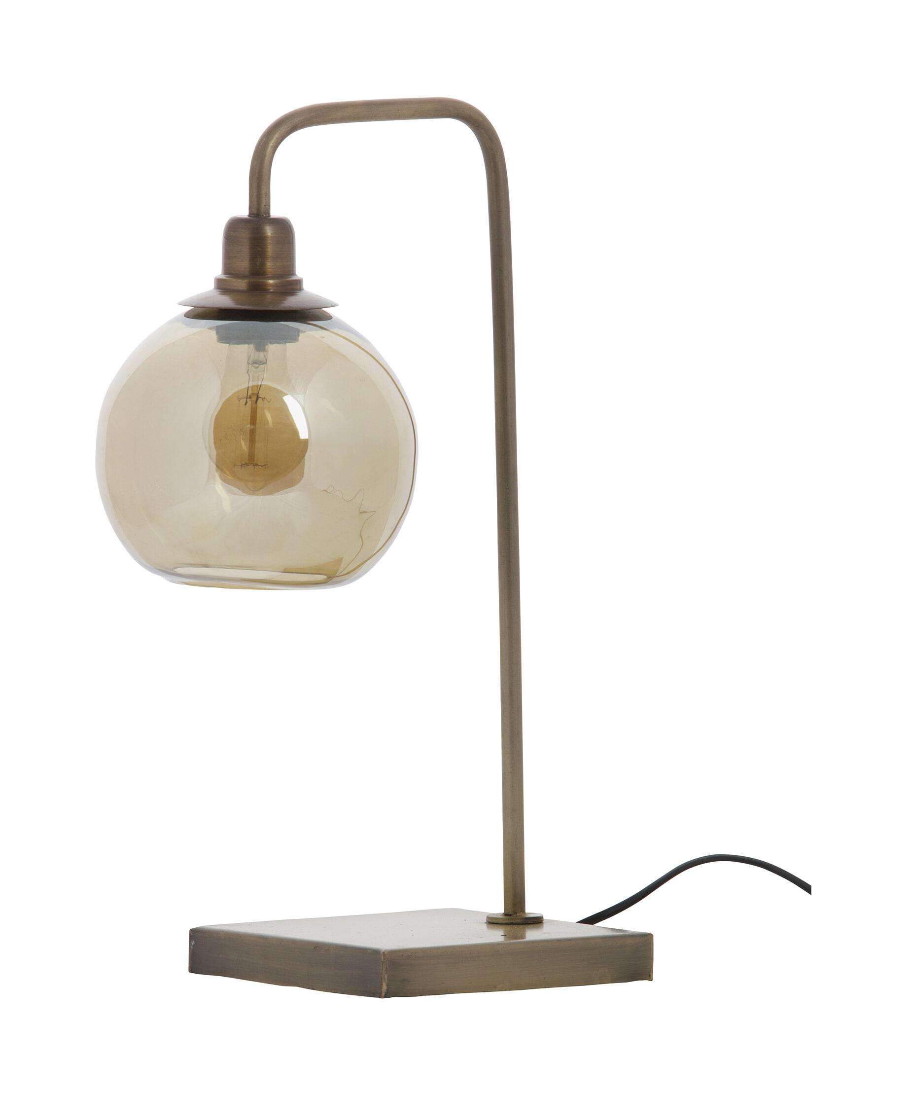 BePureHome Tafellamp 'Lantern', kleur Antique Brass Metaal met antiek brass afwerking aanschaffen? Kijk hier!