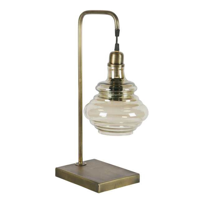 BePureHome Tafellamp 'Obvious', kleur Antique Brass