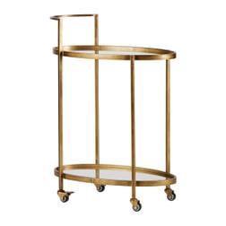 BePureHome Trolley 'Push' kleur Antique Brass
