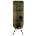BePureHome Vitrinekast 'Matrix', kleur Antique Brass