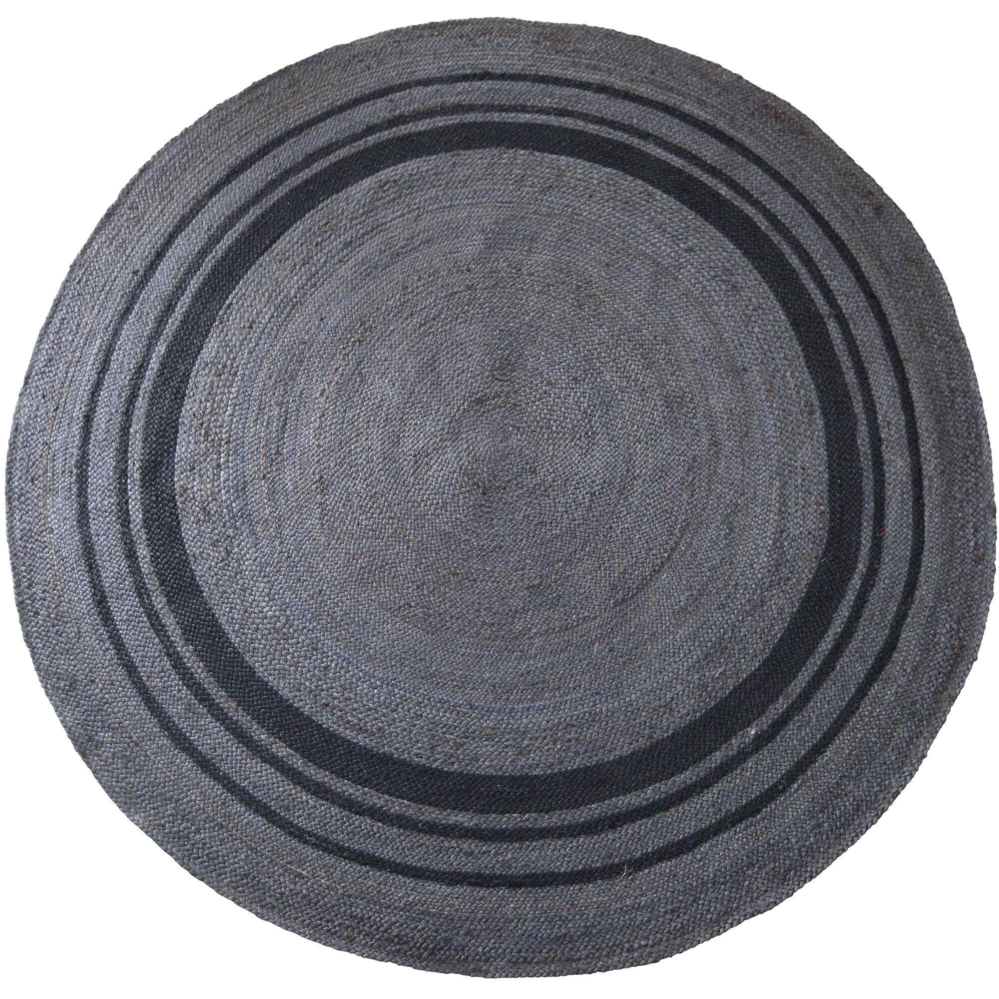 BePureHome Vloerkleed 'Coarse' 200cm, kleur grijs