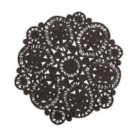 BePureHome Vloerkleed 'Coaster' 150cm, kleur Zwart