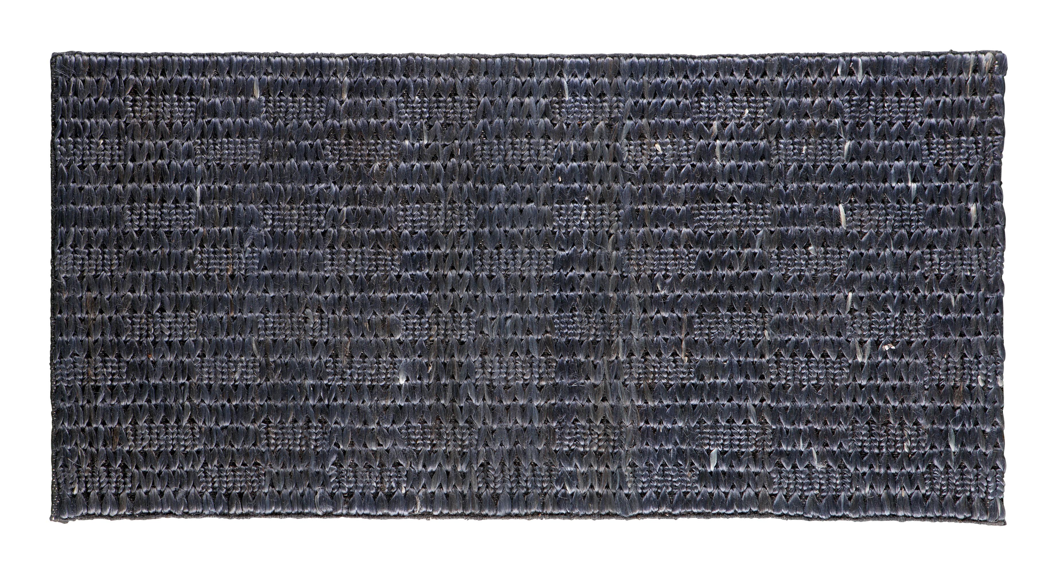BePureHome Vloerkleed 'Scenes' 70 x 140 cm, kleur Zwart Jute aanschaffen? Kijk hier!