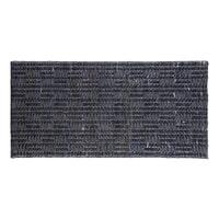 BePureHome Vloerkleed 'Scenes' 70 x 140 cm, kleur Zwart