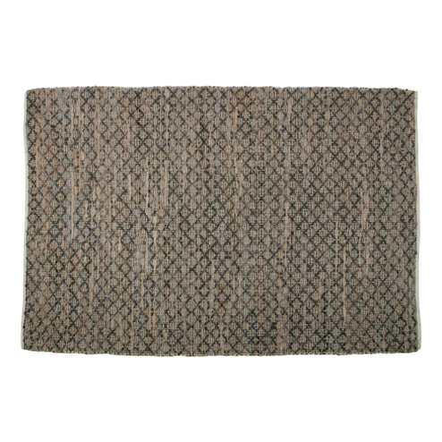 BePureHome Vloerkleed 'Twined' Jute/leer Naturel