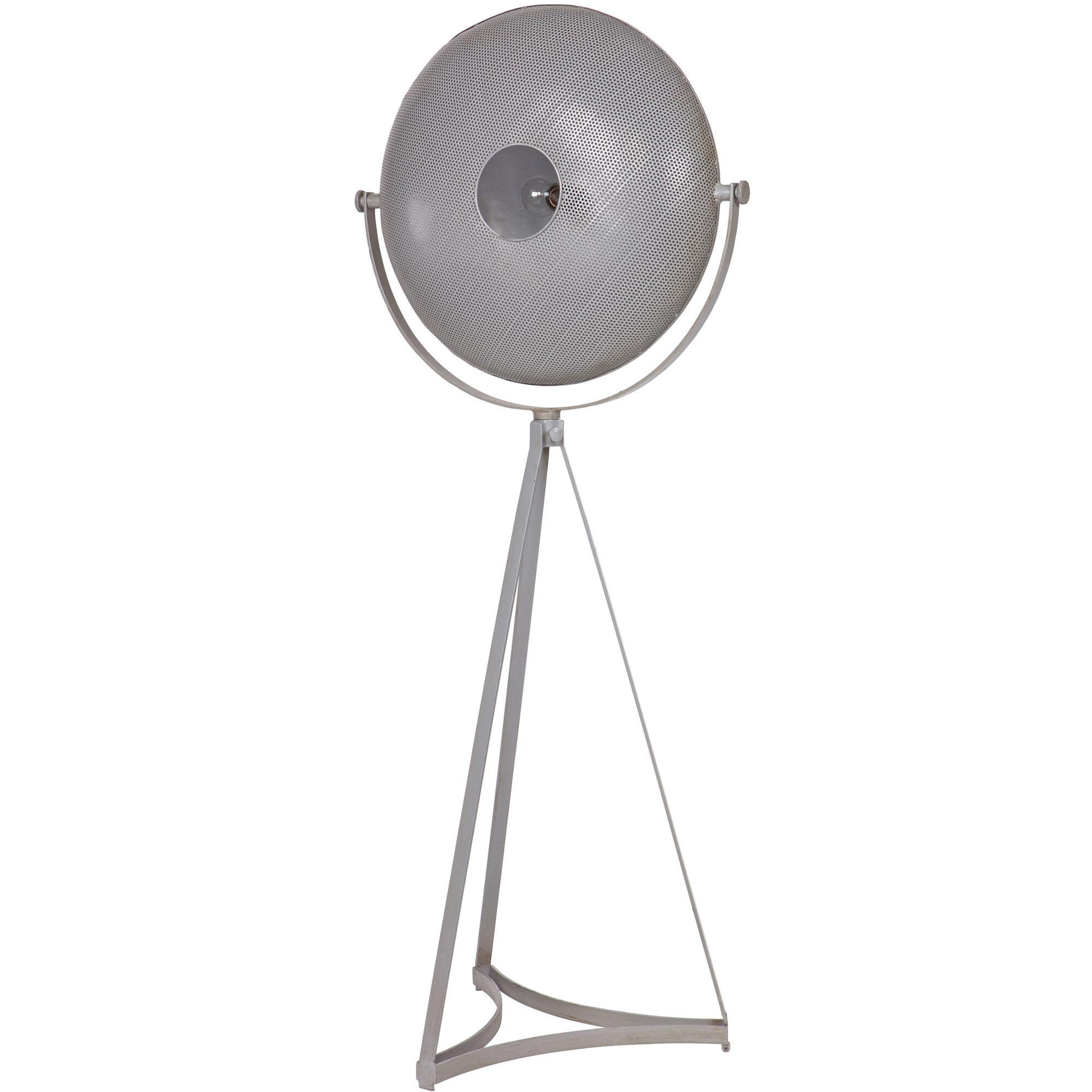 BePureHome Vloerlamp 'Blown' kleur grijs