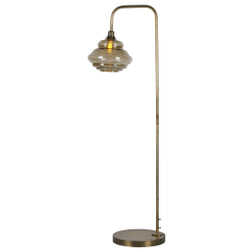 BePureHome Vloerlamp 'Obvious', kleur Antique Brass