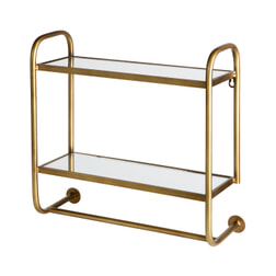 BePureHome Wandrek 'Dressed' 44 x 45cm, kleur Antique Brass