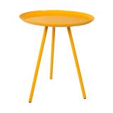 Bijzettafel 'Rafael' kleur geel