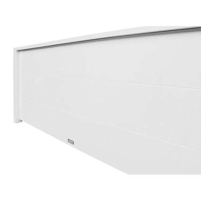Bopita Bed met laag hoofdeinde 'Bobby' 140 x 200cm, kleur wit