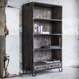 Boekenkast 'Rift' 100cm