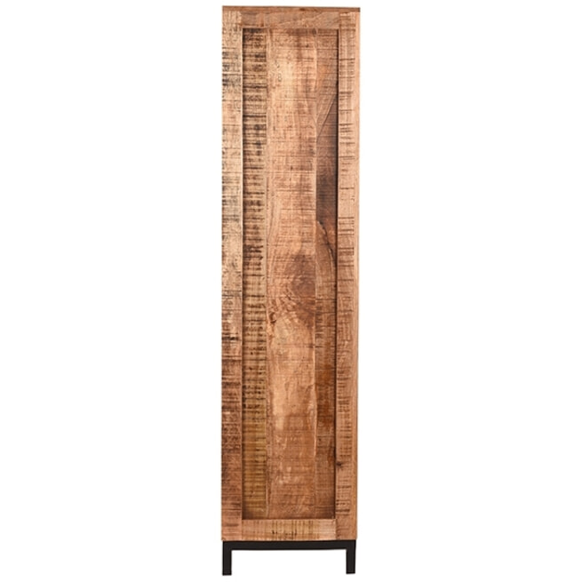 LABEL51 Boekkast 'Ghent', Mangohout 185cm, kleur Bruin