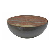Brix Salontafel 'Kurt' Bowl metaal 70cm, kleur multicolor