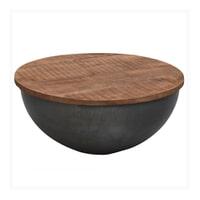 Brix Salontafel 'Suzan' Bowl met klep, 80 cm