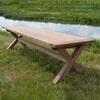 Brix Teak Tuintafel 'Cross' 200 x 100cm
