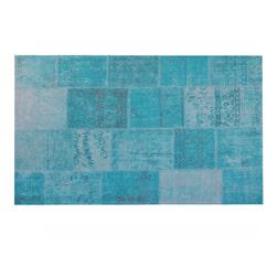 Brix Vloerkleed 'Patty' 170 x 240cm, kleur turquoise