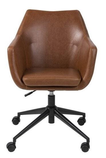 Cognac Leren Bureaustoel.Bendt Bureaustoel Rikke Pu Leder Kleur Cognac Ac 0000068057