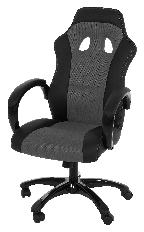 Bureaustoel 'Sandra' kleur grijs