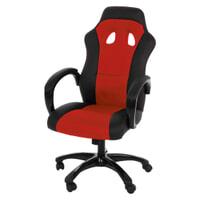 Bureaustoel 'Sandra' kleur rood