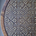 By-Boo Bijzettafel 'Jafar' 40cm, kleur bruin