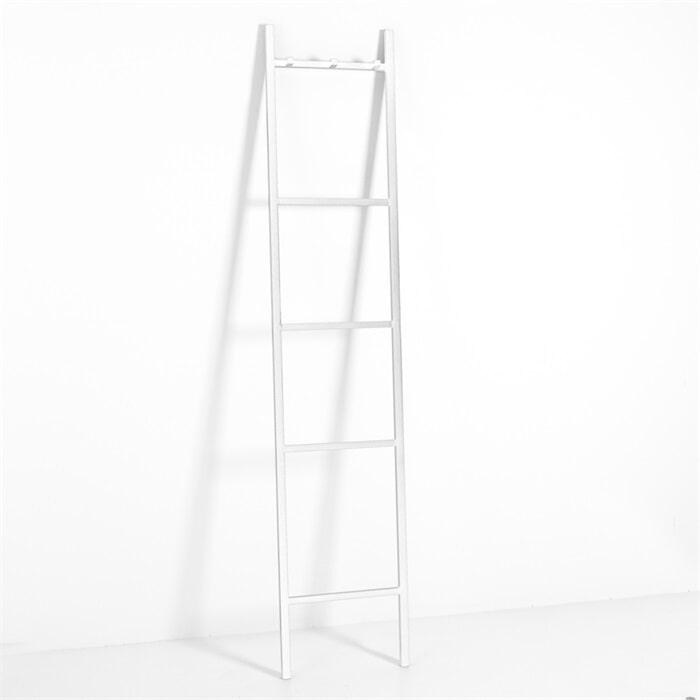 By-Boo Decoratie ladder 'Bookmark XL', kleur wit Woonaccessoires | Decoratie vergelijken doe je het voordeligst hier bij Meubelpartner