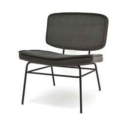 Fauteuil Zonder Armleuning.By Boo Zonder Armleuning Antraciet Fauteuil Kopen Grote Collectie