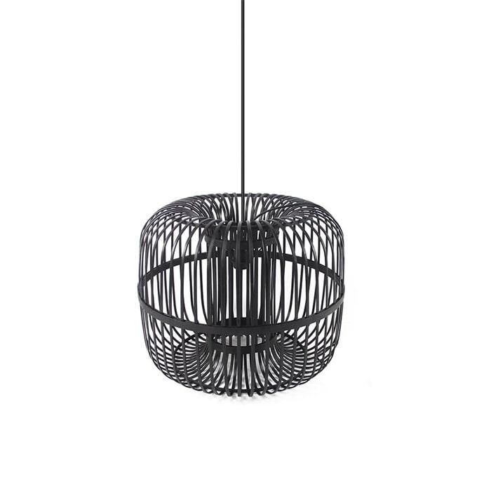 By Boo Hanglamp 'Sundown' Small 46cm, kleur zwart
