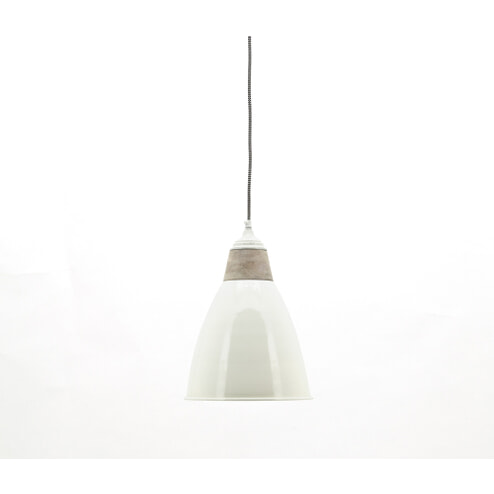 By-Boo lamp 'Tango' ivory/wood