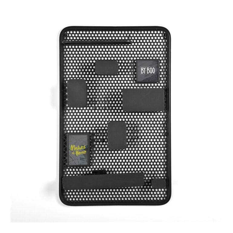By-Boo Organizer 'Handy' zwart Ijzer & glas aanschaffen? Kijk hier!