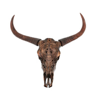 By-Boo Ox head 'Chuck' kleur brons