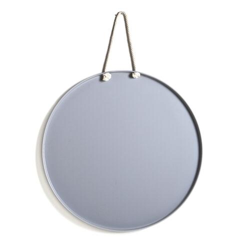 By-Boo Rond Magneetbord 'Flava' 60cm, kleur grijs