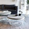 By-Boo Salontafel 'New Glory' 70cm, kleur wit