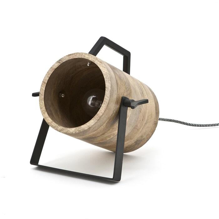 By-Boo Tafellamp 'Scotty', kleur zwart  vergelijken doe je het voordeligst hier bij Meubelpartner