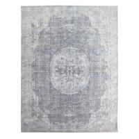 By-Boo Vloerkleed 'Amare' 160x230 cm, kleur Grijs