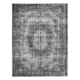 By-Boo vloerkleed 'Fiore' kleur grijs