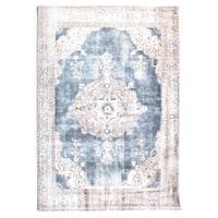 By-Boo vloerkleed 'Florence' 160 x 230cm, kleur Beige / blue