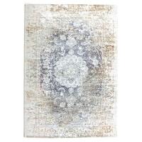 By-Boo vloerkleed 'Florence' 160 x 230cm, kleur Beige / grey