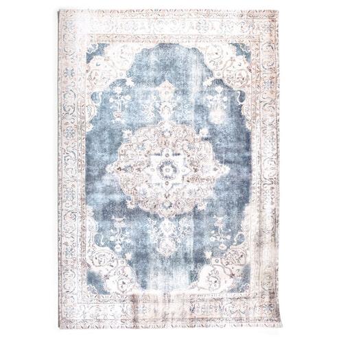 By-Boo vloerkleed 'Florence' kleur beige / blue