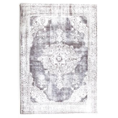 By-Boo vloerkleed 'Florence' kleur grey