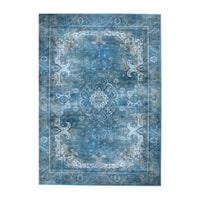 By-Boo Vloerkleed 'Liv' 200 x 290cm, kleur Turquoise
